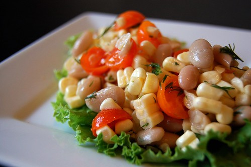 Corn Salad Close-Up