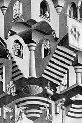 M.C. Escher iPhone wallpaper
