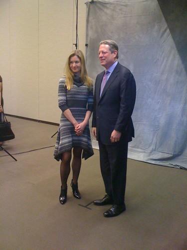 Malgosia & Al Gore