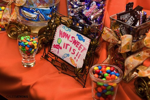 Candy Buffet at Raspberry Plain