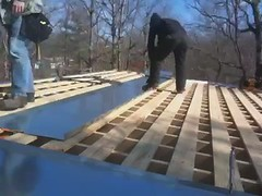 VIDEO: doing the roof, metal style.