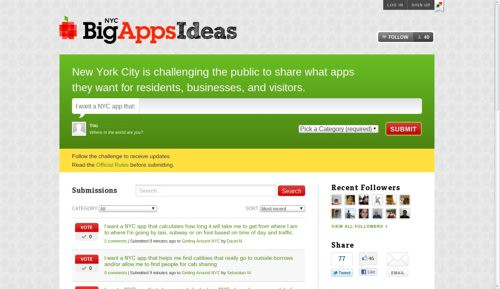 NYC Big Apps Ideas