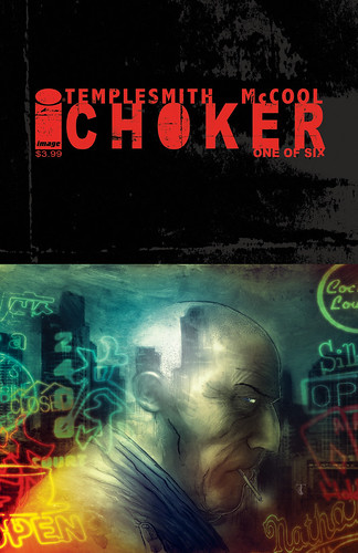 CHOKER COVER progressions by Ben Templesmith.