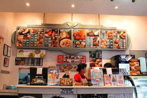 Inside Biggs Diner