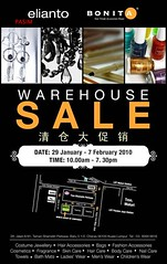 Bonita & Elianto Warehouse Sales