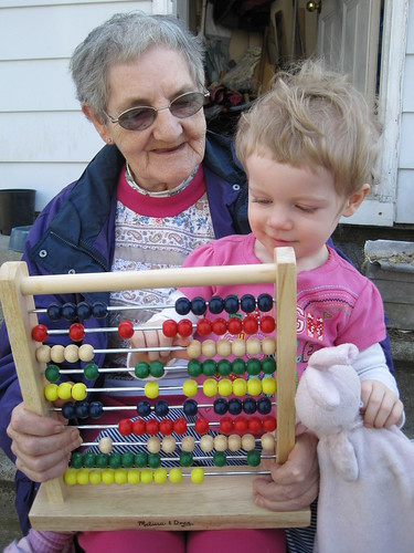 Abacus-ing with Grandma Janet