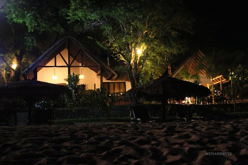 Aside from the loft, we rented this beachfront bungalow in Sabangan Beach Resort