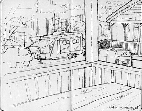 Camping Sketches