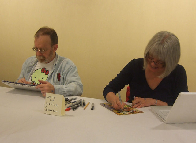 Walt & Louise Simonson @ Boston Comic Con