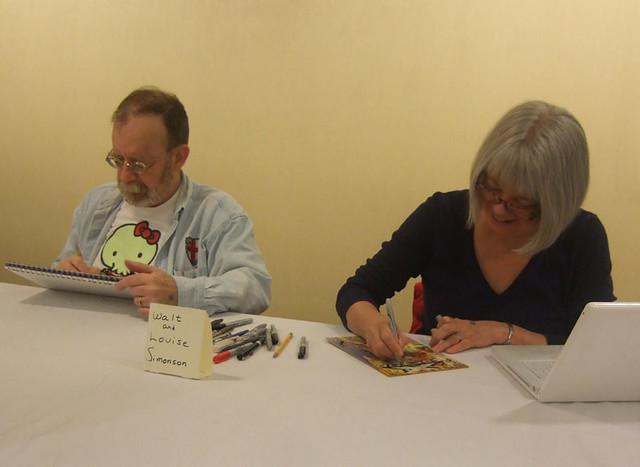 Walt & Louise Simonson @ Boston Comic Con