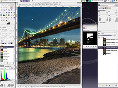 SML SilverGlass Ubuntu Desktop Theme: 4 of 5: GIMP / 2009-03-04 / SML Screenshots