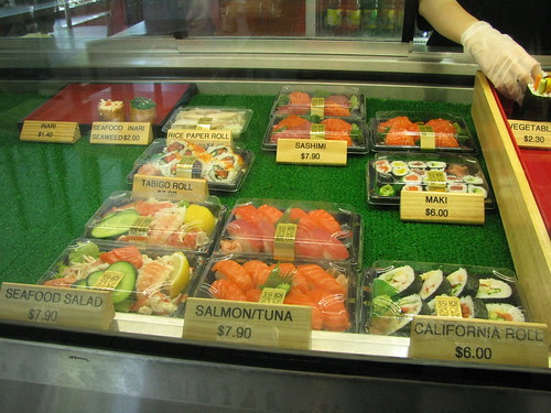 Sushi Land in Albert Road, Melbourne