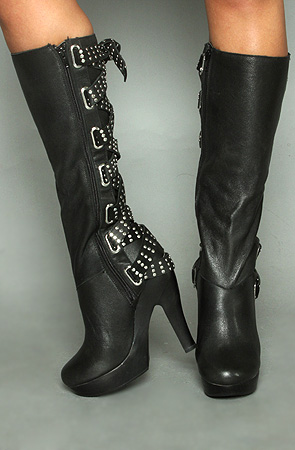 The Austria Lace Back Boot