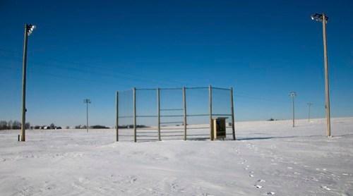 Frozen Field Of Dreams