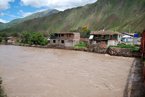 High river in Urubamba