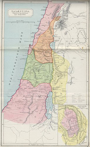 """PALESTINE IN THE TIME OF JESUS....""""A LAND..."""