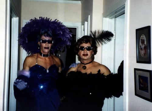 Buddy and Rick Halloween Drag