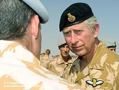 HRH Prince Charles Visits Troops in Afghanistan