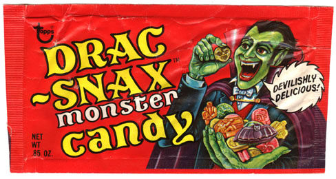 Drac-Snax Wrapper (Front)