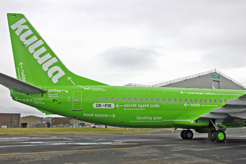 Kulula Air Boeing 737-800 Funny Livery