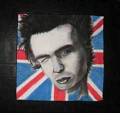 Sid Vicious -Sex Pistols-
