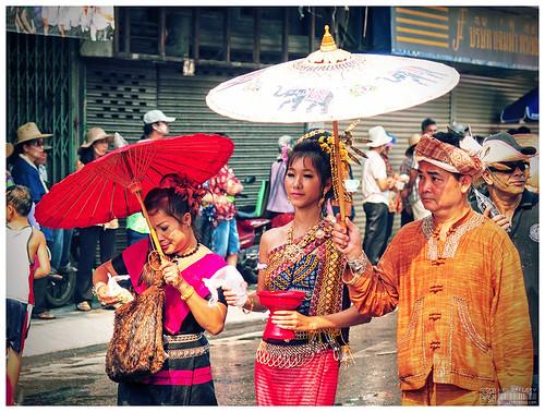 Songkran Chiang Mai 2010