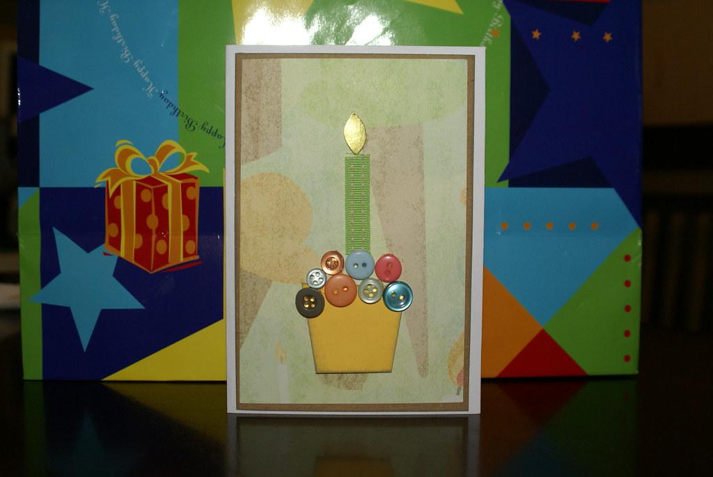 Happy Birthday Button Cuppy