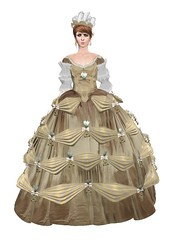 Marie Antoinette in the City {Front}