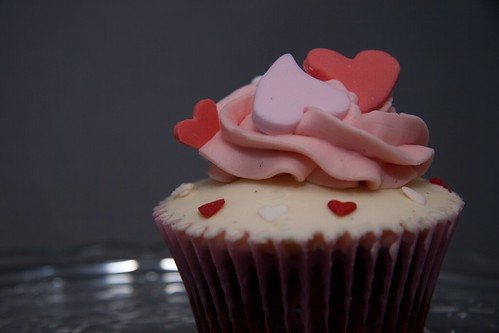 Valentine's Cupcake from Cirencester Cupcakes