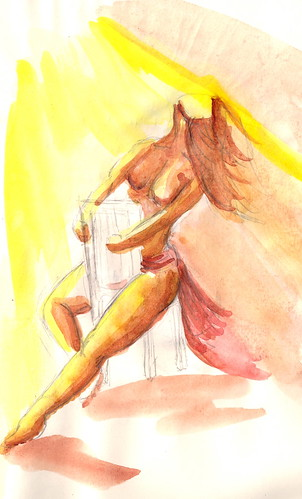 Burlesque Sketch 13