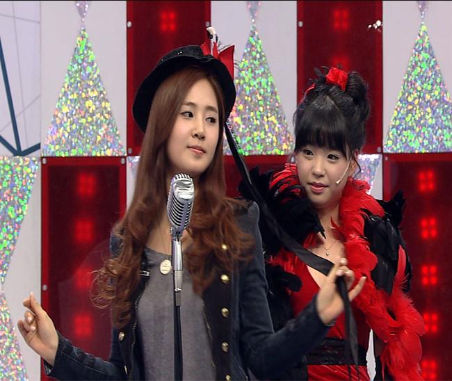 [Caps] SNSD Yuri and Jessica on Star King *YulSic*   I danshin locks