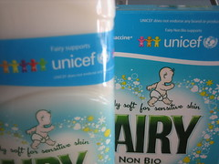 UNICEF and Fairy