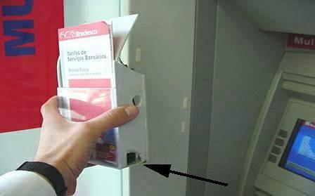 ATM ber-Kamera (CCTV)