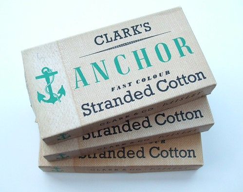 Vintage Anchor Stranded Cotton Boxes