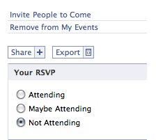 Facebook meeting export