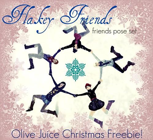 Flakey Friends Freebie!