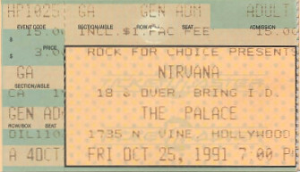 Nirvana, Hollywood Palace