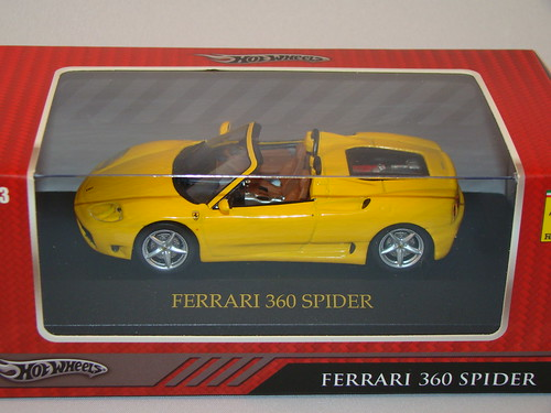 hot wheels ferrari 360 spider (2)