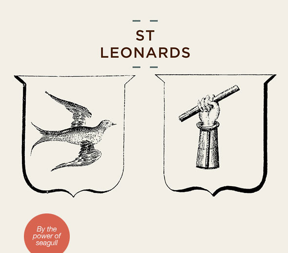 St Leonards leather goods
