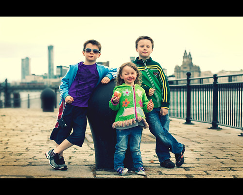 Meet the crew, Liverpool skyline backdrop by Ianmoran1970