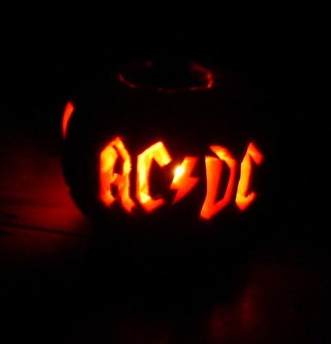 ACDC pumpkin