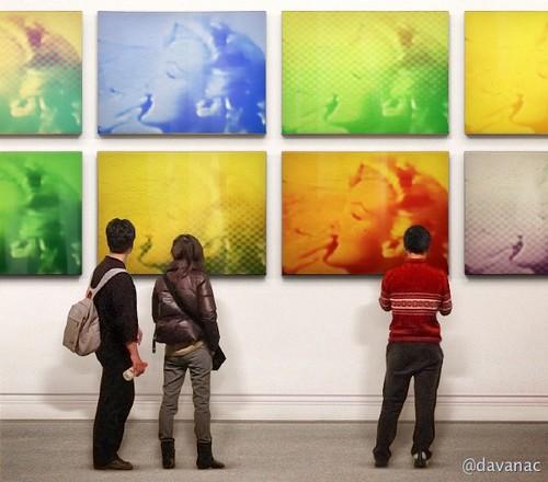 Des tableaux inédits d'Andy Warholl et Marylin refont surface à Amsterdam !