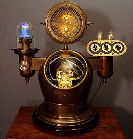 steampunk tengkorak