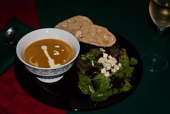 Winter Squash and Garlic Soup