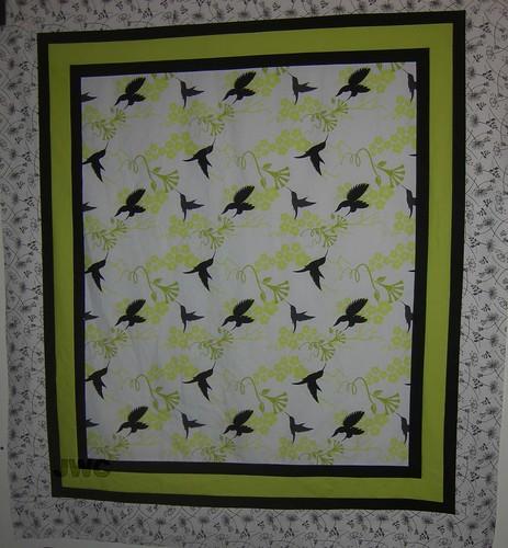 Bird Quilt Top