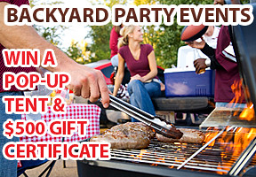 backyard party events photo contest on lenzr