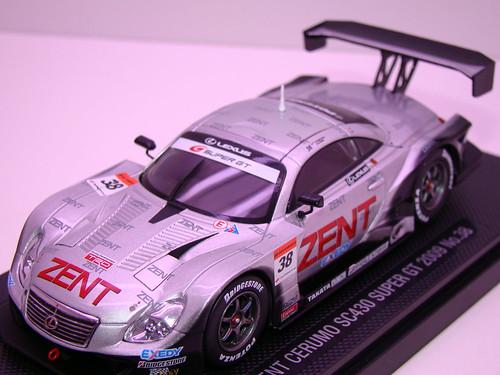 EBBRO ZENT CERUMO SC430 SUPER GT 2009 NO (3)
