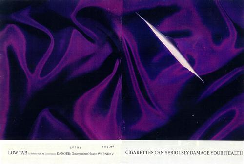 Silk Cut cigarette ad