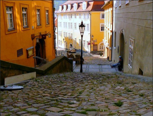 Hradcany, the other side of Prague