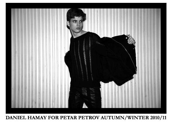 DANIEL HAMAY FOR PETAR PETROV AUTUM--WINTER 2010-11 SHOT BY CHRISTOPH PIRNBACHER 1